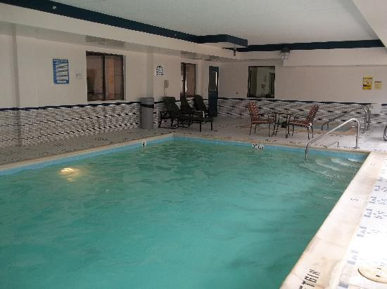 Comfort Inn Palatine: Pool area