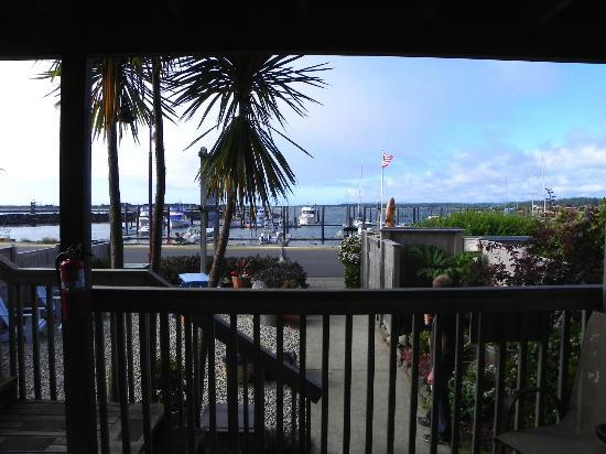 Sea Star Guesthouse: View from our Room!
