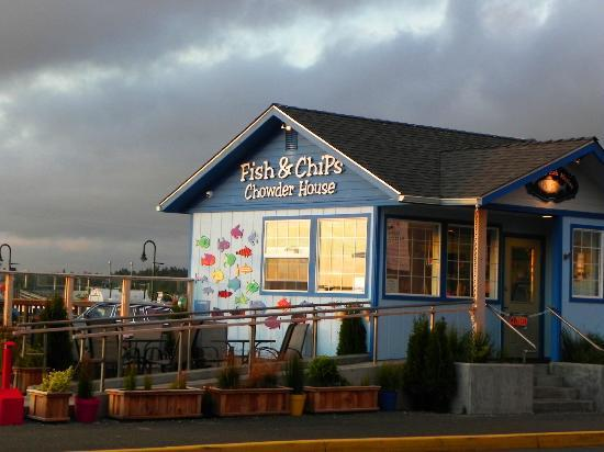 Sea Star Guesthouse: A block walk to the best Fish-N-Chips & Clam Chowder!