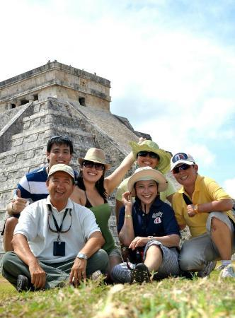 Photos of Chichen Itza With Jerry, Cancun