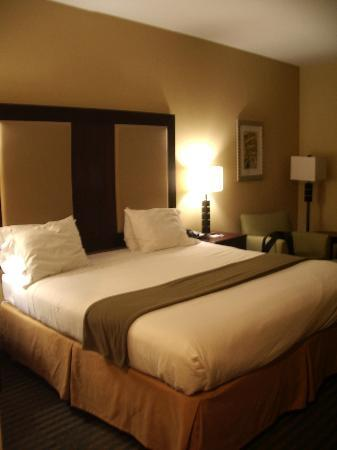 Holiday Inn Express Hotel &amp; Suites Gulf Shores: our king size bedroom