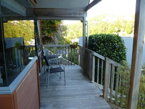 Bay Cabinz Motel: terrace