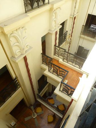 New Hotel Miramar: Proper art deco stair cases and mezzanines.