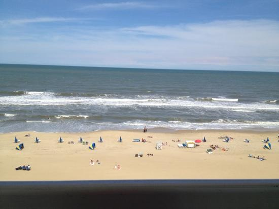 Ocean Suites: our room from the 8th floor!!! loved this place!