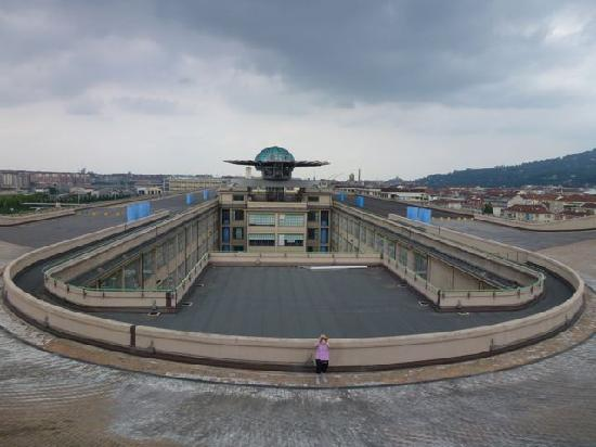 Roof track picture of nh torino lingotto congress turin for Hotels turin