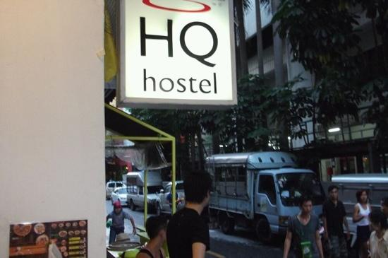 HQ hostel Bangkok: songkran day !