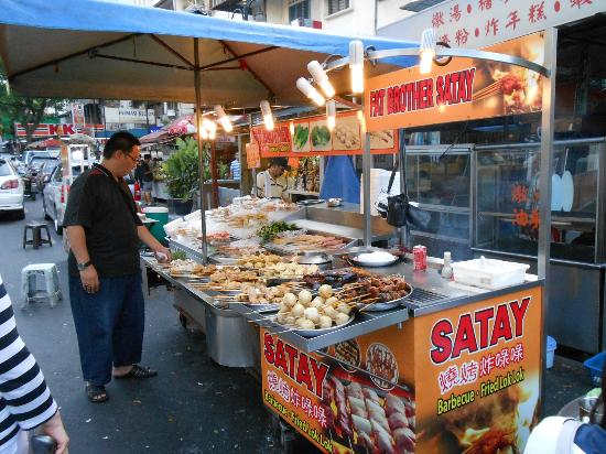 Market Food Stall Picture Of Anggun Boutique Hotel