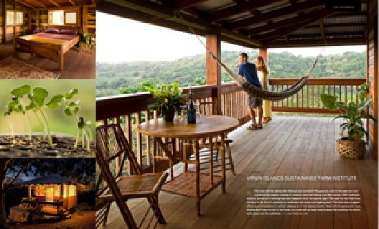 Ridge to Reef Farm at VISFI: Montage of Farm Stays, Hawk's Nest