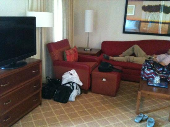 Residence Inn Austin / Round Rock: Sitting area