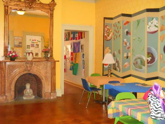 Hostelling International - Baltimore: sala de la hostel