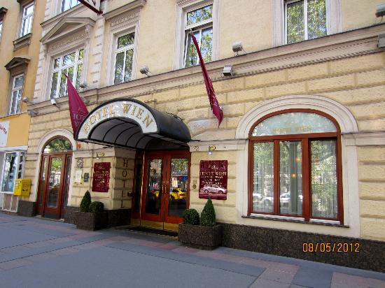 Austria Classic Hotel Wien: Hotel Front