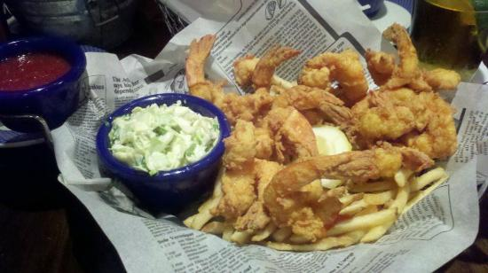 Ashburn, VA: Shrimp basket