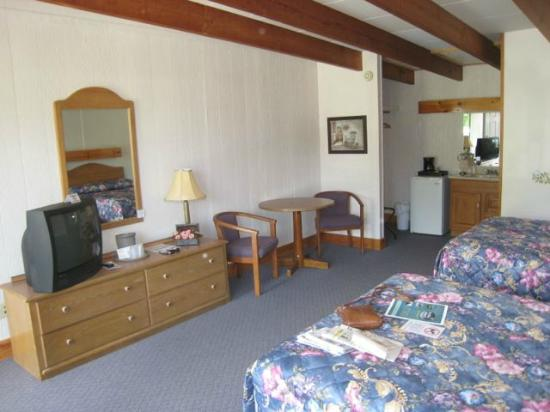 Twilite Motel : Nice sized room 