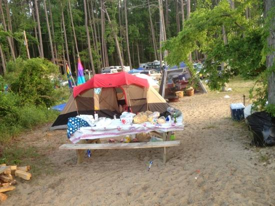 Camp Merryelande: camp site 5