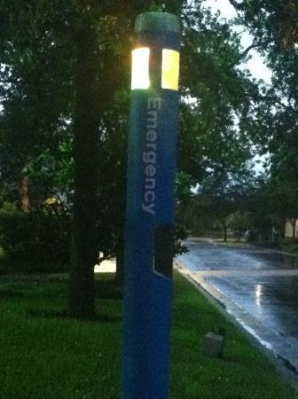 Mainsail Tampa Extended Stay: Emergency Pole