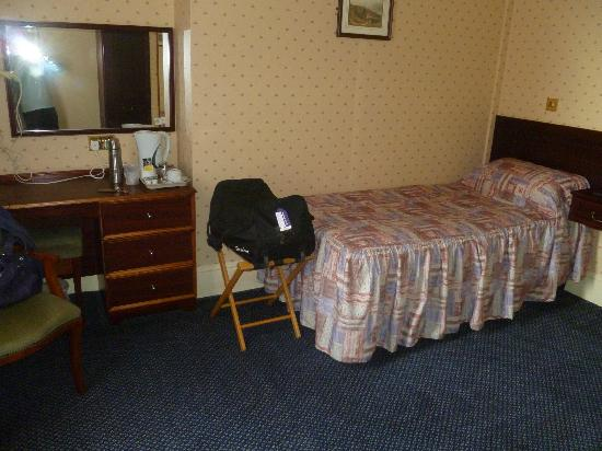 Exmouth, UK: Single room