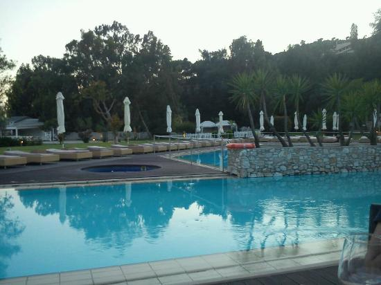 Agia Paraskevi, Greece: The pool