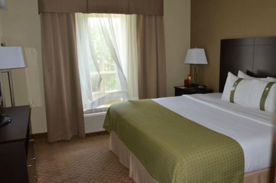 Holiday Inn Suites Kamloops: Bedroom