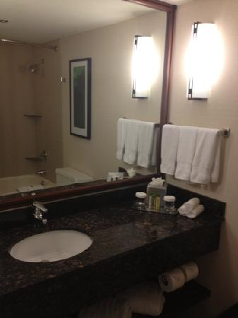 Doubletree Guest Suites &amp; Conference Center Chicago / Downers Grove: new well appointed bathroom