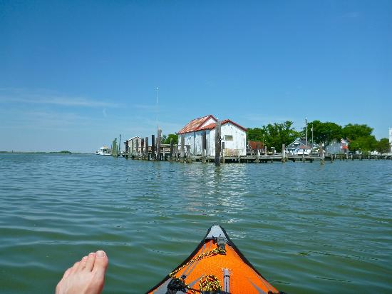 Inn of Silent Music: Kayaking paradise