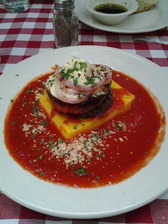 Swiss Hotel: Eggplant and Portobello Mushroom Parmesan