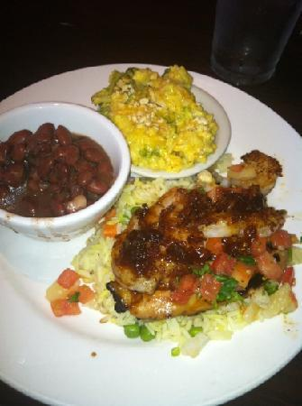 key west chicken and shrimp - Picture of Cheddar's, Greenville ...