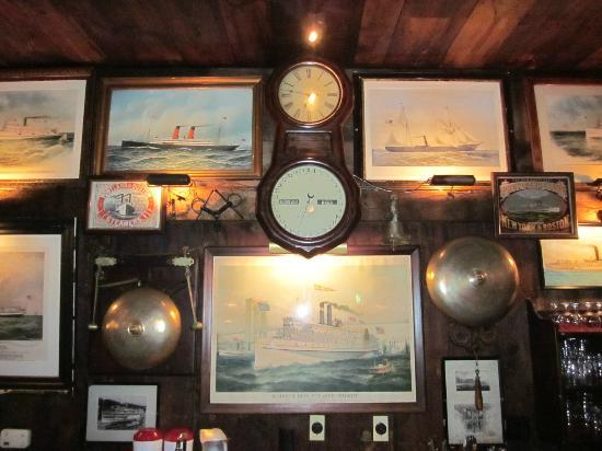 Griswold Inn: A small piece of what is on the dining room walls
