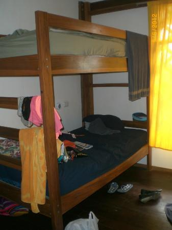 Pagalu Hostel: dorm beds (for 4 people), quite spacious