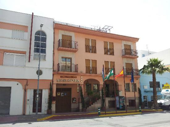 Hotel Avenida Tropical: Voorkant Hotel