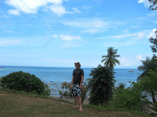 Casita Corcovado: Just across the Street overlooking the Bay