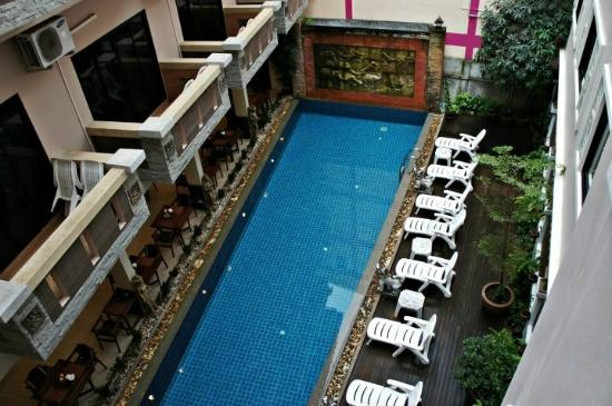 Seeka Boutique Resort: the pool