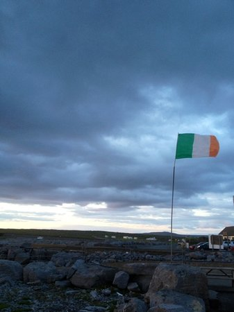 Fisherman's Rest: Irish pride
