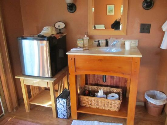 Talkeetna Chalet Bed &amp; Breakfast: great amenities in the rooms,
