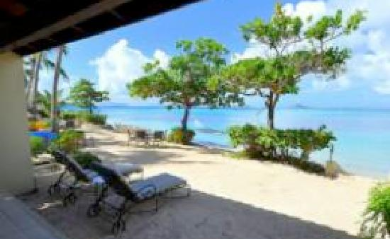 Mango Bay Resort: Gorgeous view from one our beachfront villas, just priceless!