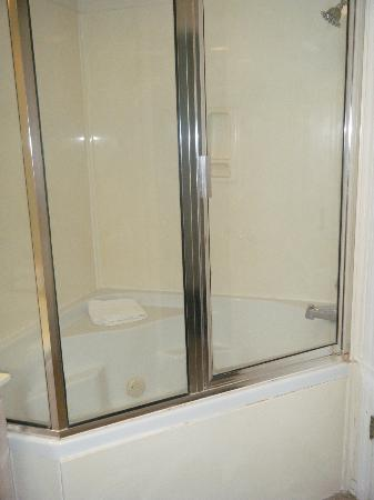 Suites at Fall Creek: Jacuzzi tub & shower