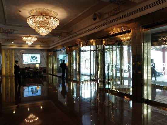 Beijing Friendship Hotel: Building No.1 main lobby
