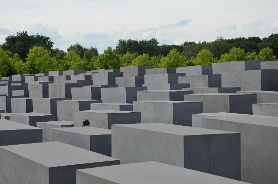 The Holocaust Memorial - Memorial to the Murdered Jews of Europe