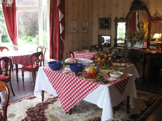 Ballyrafter Country House Hotel: Brunch Buffet