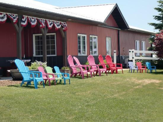 Dairy View: Pretty Chairs for hanging out in!