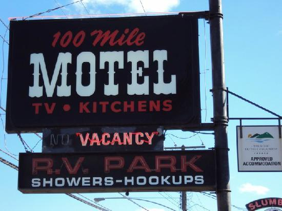 ‪100 Mile Motel and RV Park‬