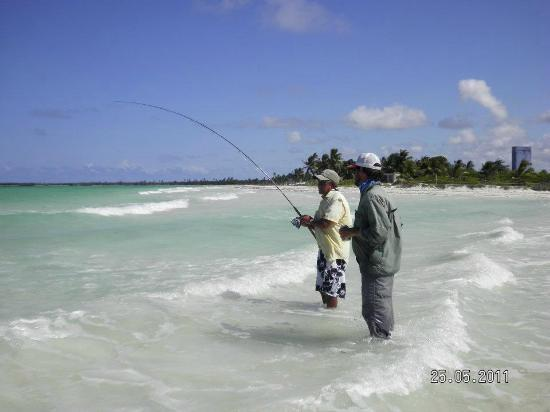 fishing in the surf picture of boca paila playa del