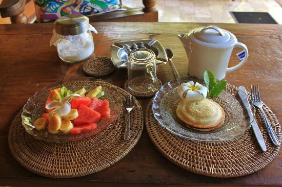 Guci Guesthouses: lovely breakfast