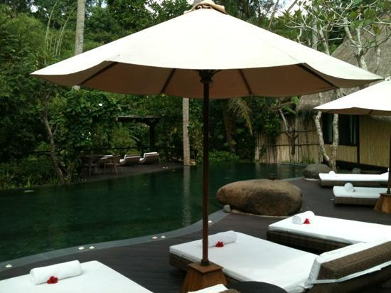Fivelements Puri Ahimsa: Soak and relax in the pool with absolute privacy
