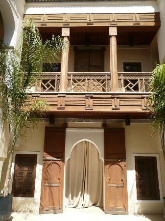 Riad Hizad: Patio