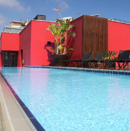 Hotel Barcelona Catedral: Exterior Swimming Pool