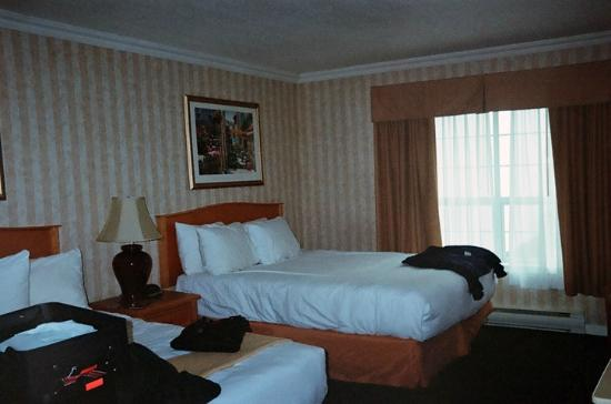 Quality Inn Downtown Inner Harbour: Rooms were very comfortable