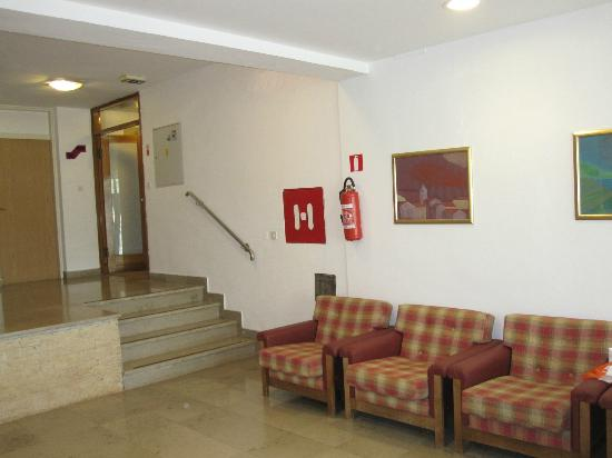Hotel Sol Umag & Dependance Park: the entrance hall