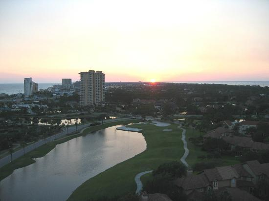 Sandestin Golf and Beach Resort: Sunset over the Gulf of Mexico - Sandestin Resort
