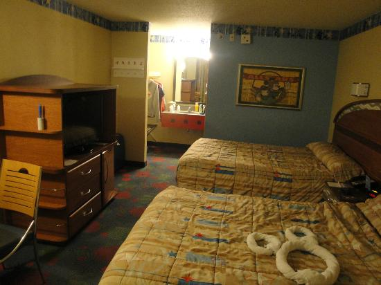Our Room Picture Of Disney S All Star Sports Resort