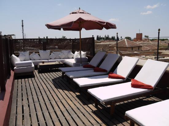 Riad El Zohar: Sun Terrace